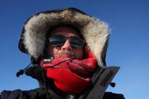 Selfie Eric Mourniac par -40°C et un beau soleil