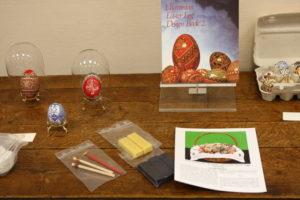 Exposition oeufs décorés Condom