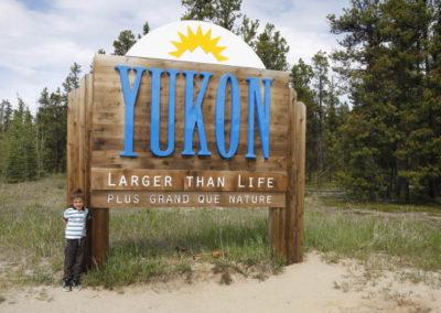 Entrée du Yukon